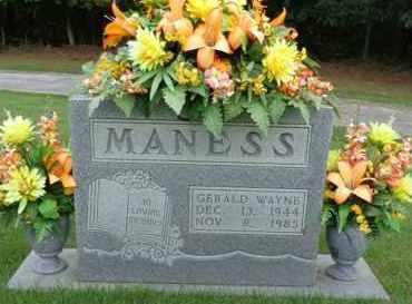 MANESS, GERALD WAYNE - Henderson County, Tennessee   GERALD WAYNE MANESS - Tennessee Gravestone Photos