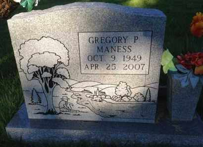 MANESS, GREGORY P. - Henderson County, Tennessee | GREGORY P. MANESS - Tennessee Gravestone Photos