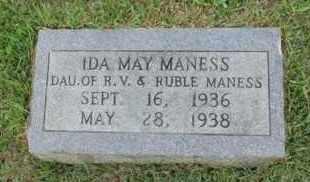MANESS, IDA MAY - Henderson County, Tennessee | IDA MAY MANESS - Tennessee Gravestone Photos