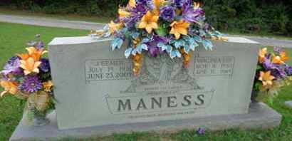 MANESS, VIRGINIA LEE - Henderson County, Tennessee | VIRGINIA LEE MANESS - Tennessee Gravestone Photos