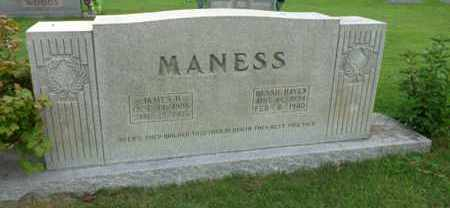MANESS, JAMES H. - Henderson County, Tennessee | JAMES H. MANESS - Tennessee Gravestone Photos