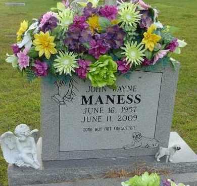 MANESS, JOHN WAYNE - Henderson County, Tennessee | JOHN WAYNE MANESS - Tennessee Gravestone Photos