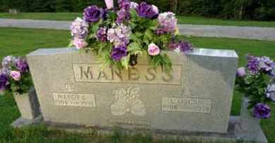 MANESS, L OSCAR - Henderson County, Tennessee | L OSCAR MANESS - Tennessee Gravestone Photos