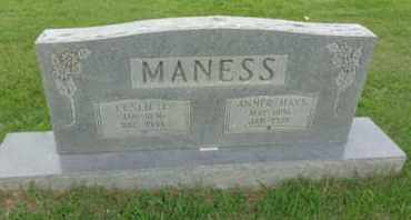 MANESS, LESLIE L - Henderson County, Tennessee | LESLIE L MANESS - Tennessee Gravestone Photos