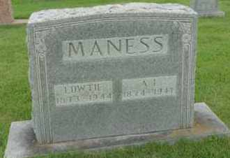 MANESS, LOWTIE - Henderson County, Tennessee | LOWTIE MANESS - Tennessee Gravestone Photos