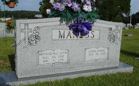 MANESS, LONNIE EDWARD - Henderson County, Tennessee | LONNIE EDWARD MANESS - Tennessee Gravestone Photos