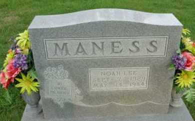MANESS, NOAH LEE - Henderson County, Tennessee | NOAH LEE MANESS - Tennessee Gravestone Photos