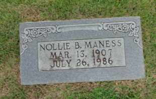MANESS, NOLLIE B. - Henderson County, Tennessee | NOLLIE B. MANESS - Tennessee Gravestone Photos