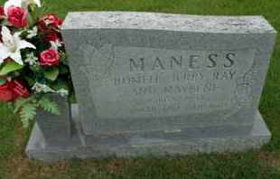 MANESS, JERRY RAY - Henderson County, Tennessee | JERRY RAY MANESS - Tennessee Gravestone Photos