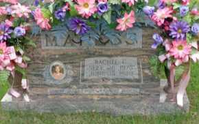 MANESS, RACHEL C - Henderson County, Tennessee | RACHEL C MANESS - Tennessee Gravestone Photos
