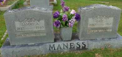 MANESS, MARY J - Henderson County, Tennessee | MARY J MANESS - Tennessee Gravestone Photos