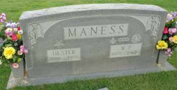 MANESS, HESTER - Henderson County, Tennessee | HESTER MANESS - Tennessee Gravestone Photos