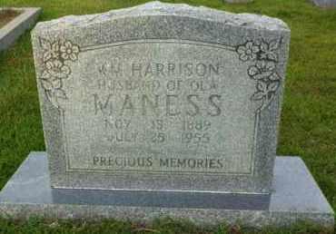 MANESS, WILLIAM HARRISON - Henderson County, Tennessee | WILLIAM HARRISON MANESS - Tennessee Gravestone Photos