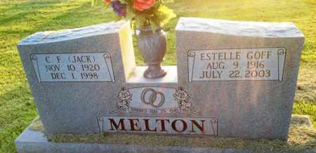 GOFF MELTON, ESTELLE - Henderson County, Tennessee | ESTELLE GOFF MELTON - Tennessee Gravestone Photos