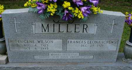 CREWS MILLER, FRANCES LEONA - Henderson County, Tennessee | FRANCES LEONA CREWS MILLER - Tennessee Gravestone Photos