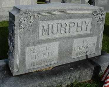 MURPHY, HETTIE P. - Henderson County, Tennessee | HETTIE P. MURPHY - Tennessee Gravestone Photos