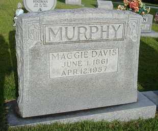 DAVIS MURPHY, MAGGIE - Henderson County, Tennessee | MAGGIE DAVIS MURPHY - Tennessee Gravestone Photos