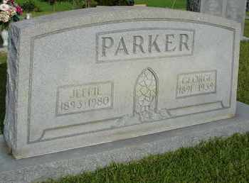 PARKER, GEORGE - Henderson County, Tennessee | GEORGE PARKER - Tennessee Gravestone Photos
