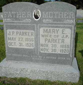 PARKER, MARY E. - Henderson County, Tennessee | MARY E. PARKER - Tennessee Gravestone Photos