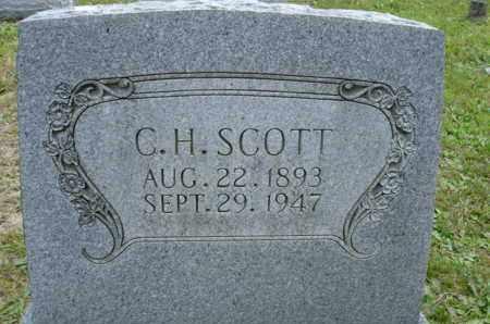 SCOTT, C H - Henderson County, Tennessee | C H SCOTT - Tennessee Gravestone Photos
