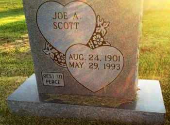 SCOTT, JOE A. - Henderson County, Tennessee   JOE A. SCOTT - Tennessee Gravestone Photos