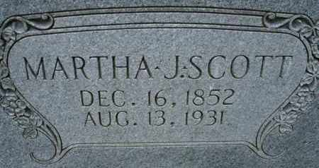 SCOTT, MARTHA J - Henderson County, Tennessee | MARTHA J SCOTT - Tennessee Gravestone Photos