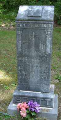 SCOTT, MARTHA J E - Henderson County, Tennessee | MARTHA J E SCOTT - Tennessee Gravestone Photos