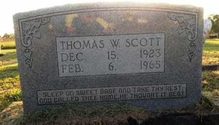 SCOTT, THOMAS W. - Henderson County, Tennessee | THOMAS W. SCOTT - Tennessee Gravestone Photos