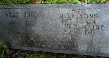 HOLMES SCOTT, MELLIE - Henderson County, Tennessee | MELLIE HOLMES SCOTT - Tennessee Gravestone Photos