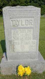 TAYLOR, J. W. - Henderson County, Tennessee | J. W. TAYLOR - Tennessee Gravestone Photos