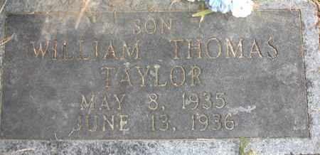 TAYLOR, WILLIAM THOMAS - Henderson County, Tennessee | WILLIAM THOMAS TAYLOR - Tennessee Gravestone Photos