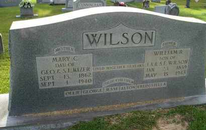 WILSON, MARY C. - Henderson County, Tennessee | MARY C. WILSON - Tennessee Gravestone Photos