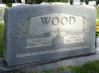 WOOD, PEARL E. - Henderson County, Tennessee | PEARL E. WOOD - Tennessee Gravestone Photos