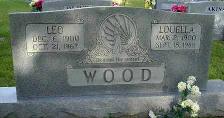WOOD, LOUELLA - Henderson County, Tennessee | LOUELLA WOOD - Tennessee Gravestone Photos