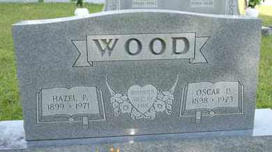 WOOD, HAZEL P. - Henderson County, Tennessee | HAZEL P. WOOD - Tennessee Gravestone Photos