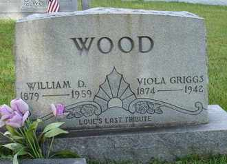 GRIGGS WOOD, VIOLA - Henderson County, Tennessee | VIOLA GRIGGS WOOD - Tennessee Gravestone Photos