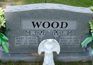 WOOD, MARY LOUISE - Henderson County, Tennessee | MARY LOUISE WOOD - Tennessee Gravestone Photos