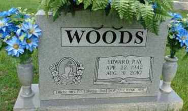 WOODS, EDWARD RAY - Henderson County, Tennessee | EDWARD RAY WOODS - Tennessee Gravestone Photos