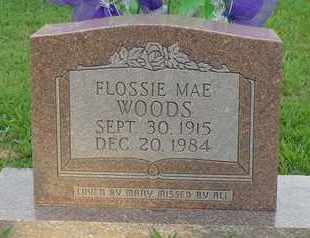 WOODS, FLOSSIE MAE - Henderson County, Tennessee | FLOSSIE MAE WOODS - Tennessee Gravestone Photos