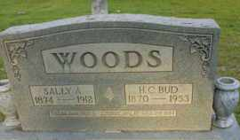 WOODS, SALLIE A - Henderson County, Tennessee | SALLIE A WOODS - Tennessee Gravestone Photos