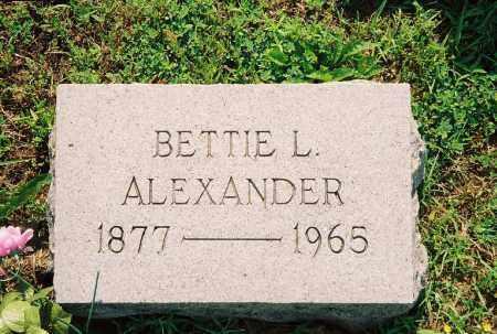 "ALEXANDER, ELIZABETH ""BETTIE"" - Henry County, Tennessee | ELIZABETH ""BETTIE"" ALEXANDER - Tennessee Gravestone Photos"