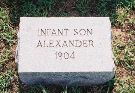 ALEXANDER, INFANT SON - Henry County, Tennessee | INFANT SON ALEXANDER - Tennessee Gravestone Photos