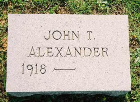 ALEXANDER, JOHN TRAVIS - Henry County, Tennessee   JOHN TRAVIS ALEXANDER - Tennessee Gravestone Photos
