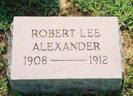 ALEXANDER, JR., ROBERT LEE - Henry County, Tennessee | ROBERT LEE ALEXANDER, JR. - Tennessee Gravestone Photos