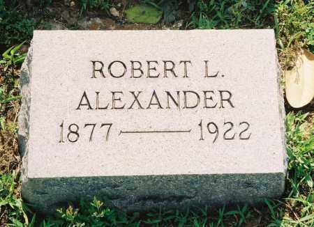 ALEXANDER, ROBERT LEE - Henry County, Tennessee   ROBERT LEE ALEXANDER - Tennessee Gravestone Photos
