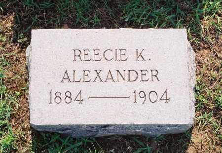 ALEXANDER, REECIE K. - Henry County, Tennessee   REECIE K. ALEXANDER - Tennessee Gravestone Photos