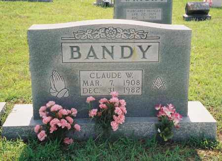 BANDY, CLAUDE WILEY - Henry County, Tennessee | CLAUDE WILEY BANDY - Tennessee Gravestone Photos