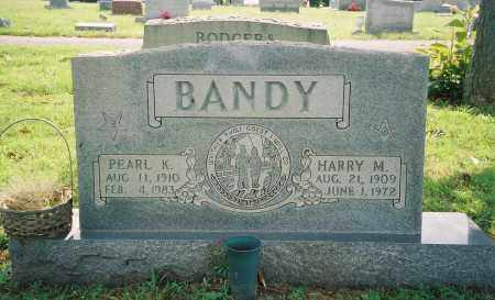 BANDY, PEARL KATHRYN - Henry County, Tennessee | PEARL KATHRYN BANDY - Tennessee Gravestone Photos