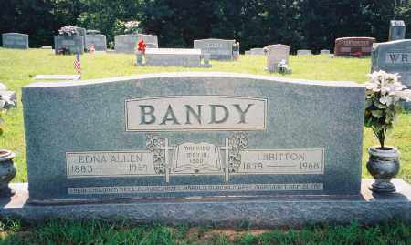 BANDY, ISAAC BRITTON - Henry County, Tennessee | ISAAC BRITTON BANDY - Tennessee Gravestone Photos