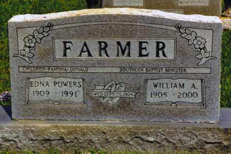 POWERS FARMER, BERA EDNA - Henry County, Tennessee | BERA EDNA POWERS FARMER - Tennessee Gravestone Photos